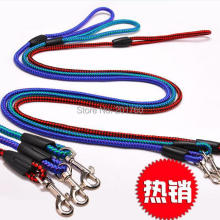 Wholesale – 0.6cm pet supplies small dog tartan design dog leashes Harnesses 12pcs/lot free shipping Color random