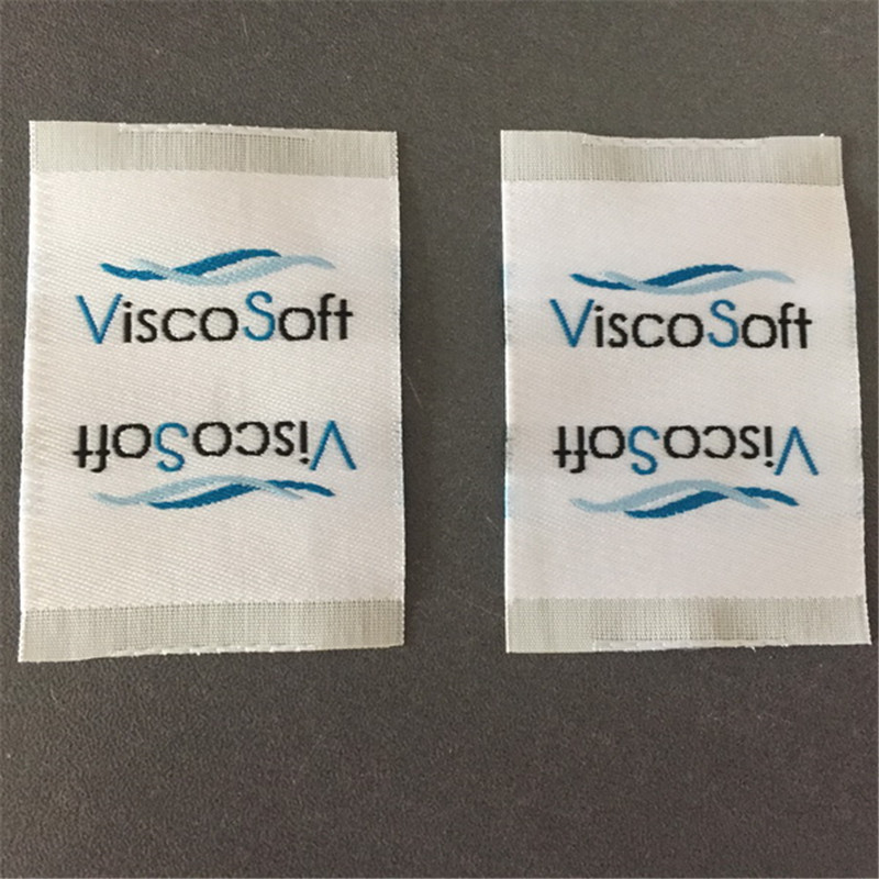 Customized High Density Double Density Clothing Label Woven Label Weaving Jacquard Labels in Garment Labels from Home Garden