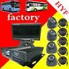 Mdvr ניטור חבילה 4 כרטיס SD אוטובוס רכב מקליט וידאו מכונית סט מלא של מפעל מצלמה הקלטה ניידת-במערכת מעקב מתוך אבטחה והגנה באתר