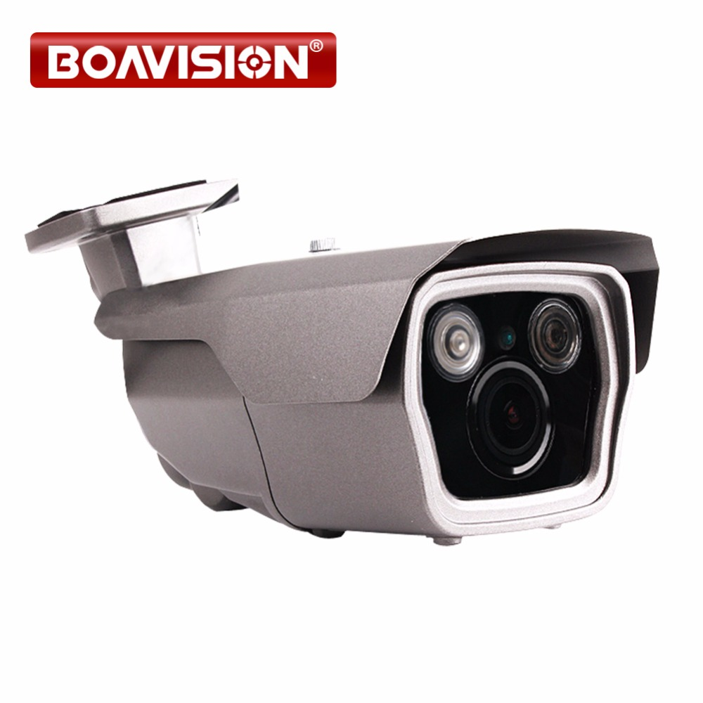 1080P 2MP POE IP Camera Outdoor Network CCTV IR Bullet Camera Mobile APP View Outdoor Waterproof 4X Zoom VariFocal 2.8-12mm Lens wistino cctv camera metal housing outdoor use waterproof bullet casing for ip camera hot sale white color cover case