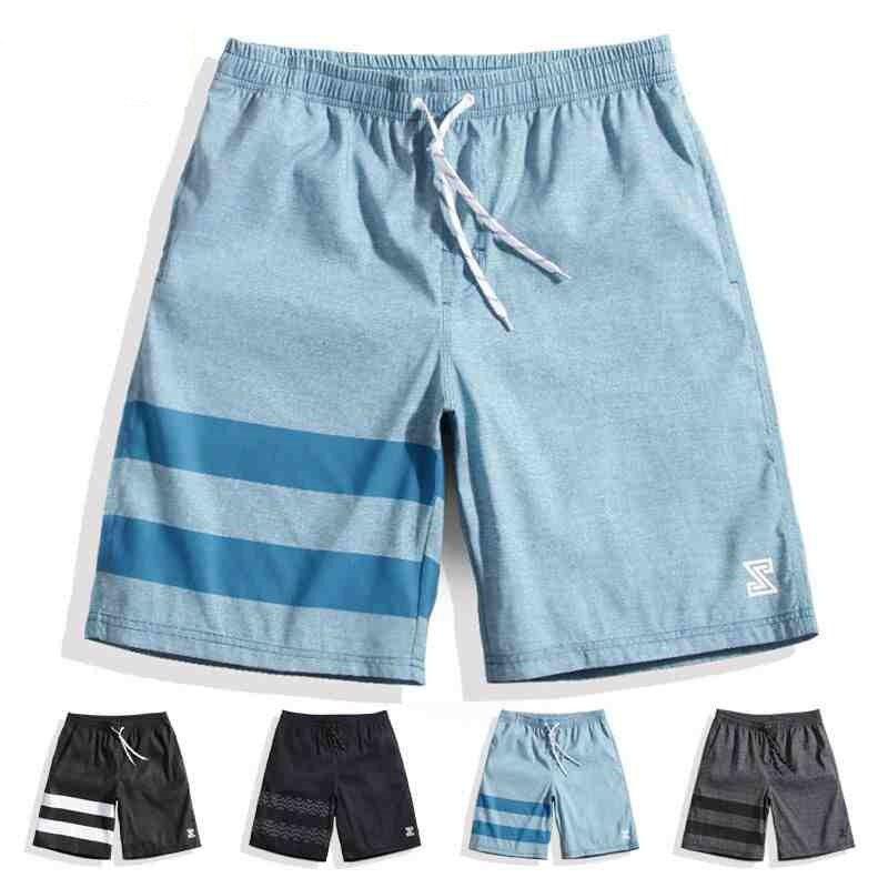 Summer Men Surf Swim   Board     Shorts   Sea Swimwear Swimming Quick Dry Sports Run Hot Spring Trunks Masculino
