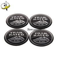 Car Styling Wheel Center Hub Caps Car Emblem For 4x4 Logo For Jeep Renegade Wrangler Grand