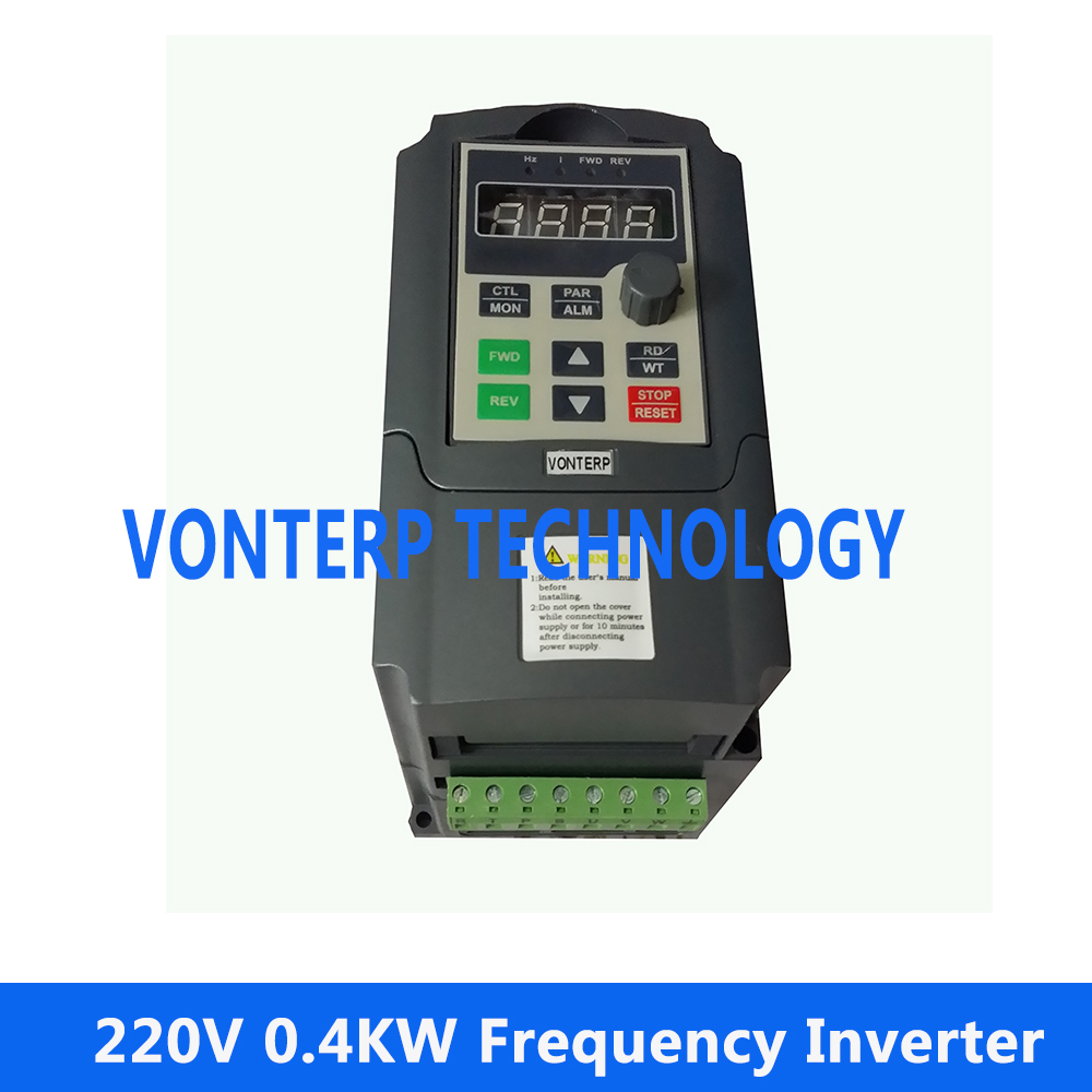 цена на VTP5M-0R4-G1 220v 0.4KW 2.5A single phase input and 220v 3 phase output AC drives/variable speed drive for ac motor