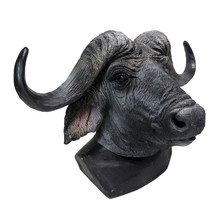 Hot Selling Realistic  Deluxe Quality Carnival Party Halloween Costume Animal Latex Rubber King Bull Mask