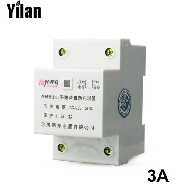 AC 220 V 3A Zwei 2 Pole 2 P Motor Schutz Controller Elektronische ...