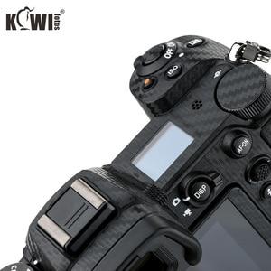 Image 5 - KIWIFOTOS נגד שריטות מצלמה גוף כיסוי סיבי פחמן סרט ערכת עבור ניקון Z7 Z6 3M מדבקה עם חילוף סרט מצלמות הגנה