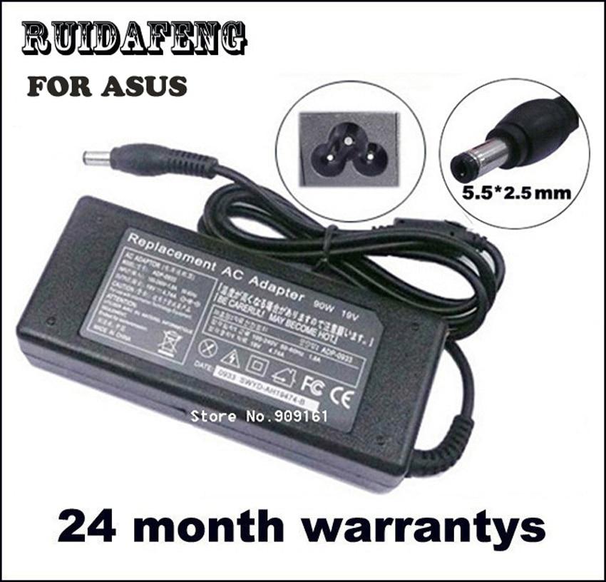 19V 4.74A váltóáramú töltő 90W Asus X51L X51R X52F X72DR X72F - Laptop kiegészítők