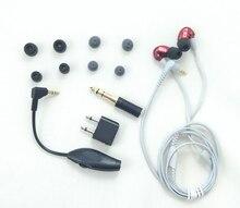 En Stock Marca SE535 Auriculares estéreo Hi-fi SE 535 de Cancelación de Ruido 3.5 MM En la oreja los Auriculares de Cable auriculares con Caja Separada VS SE215