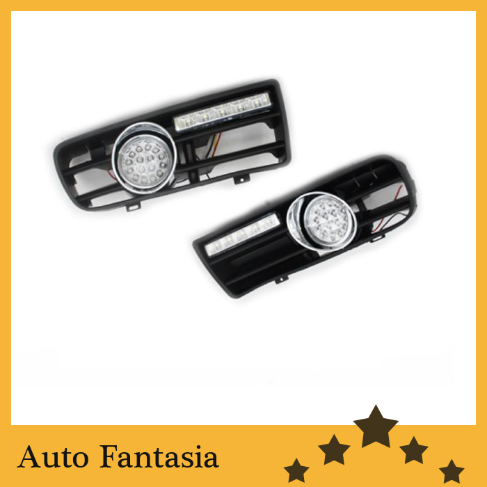 Front led fog light kit with led day time running light  -for Volkswagen golf mk4 simulation mini golf course display toy set with golf club ball flag