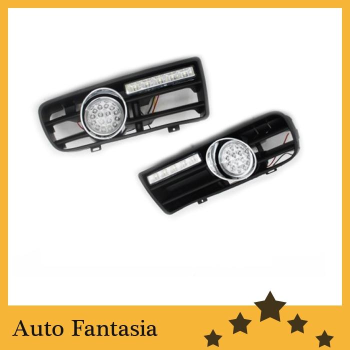 Передние светодиодные противотуманные фары комплект с светодиодные дневные ходовые свет для Фольксваген Гольф мк4