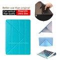 Хороший, жесткий и тпу гибкие силиконовые мягкий вернуться тонкий магнитные смарт обложка для apple ipad air 2 case (ipad 6) тонкий, как 360 поворот