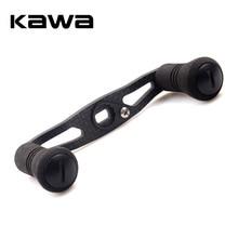 KAWA Fishing Reel Handle Carbon Fiber for Shimano Daiwa Abu Baitcasting Eva Knob Hole size 7*4/8*5mm Length 93mm Free Shipping