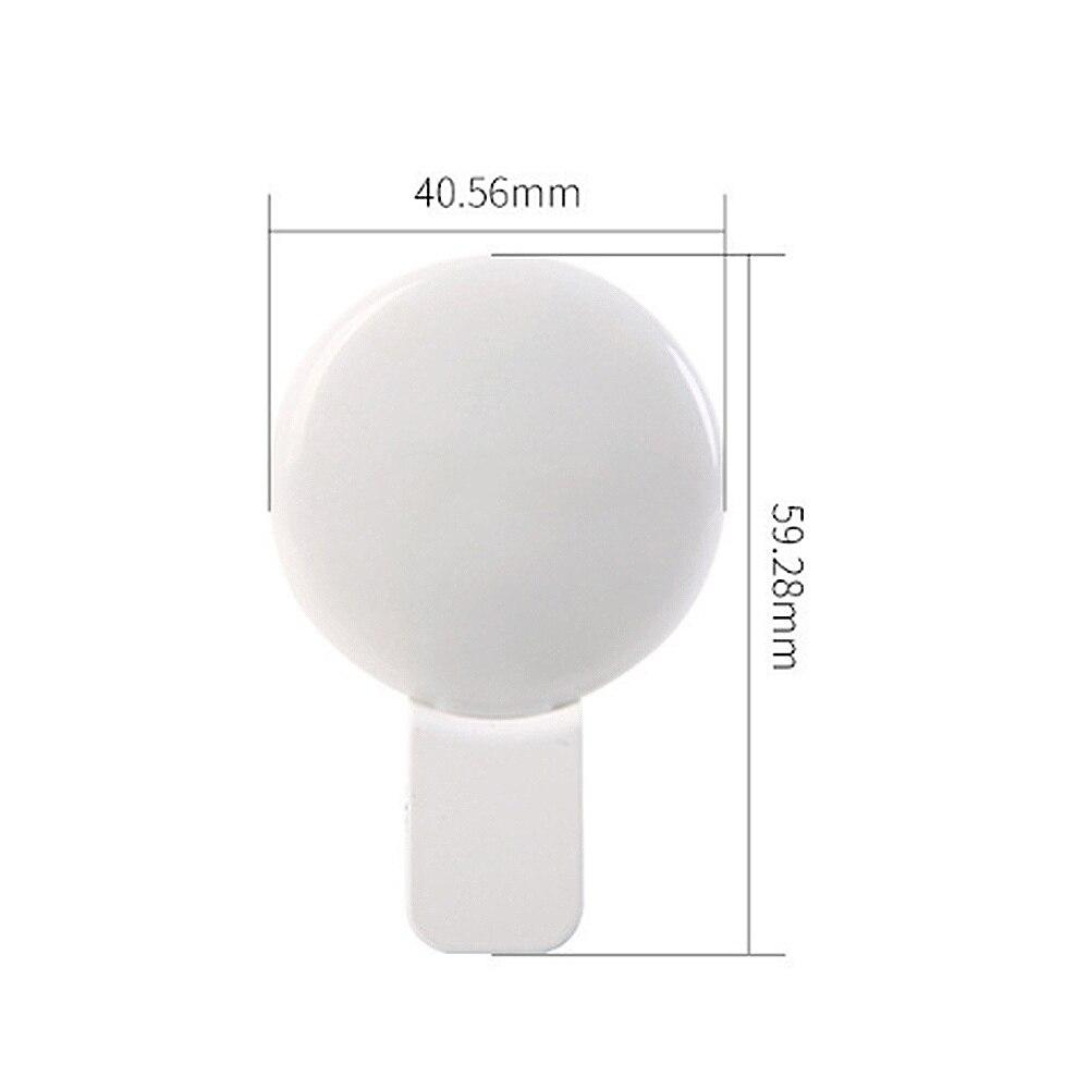 Fill light ZHAOSHUNLI Beauty Self-Timer Anchor Rejuvenation Wide-Angle Mobile Phone Lens Female Portable SLR HD Macro Camera Color : Pink, Size : Upgraded Version