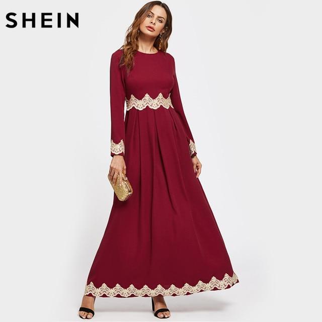 f26a822d255 Robe longue automne robe chic manche longue