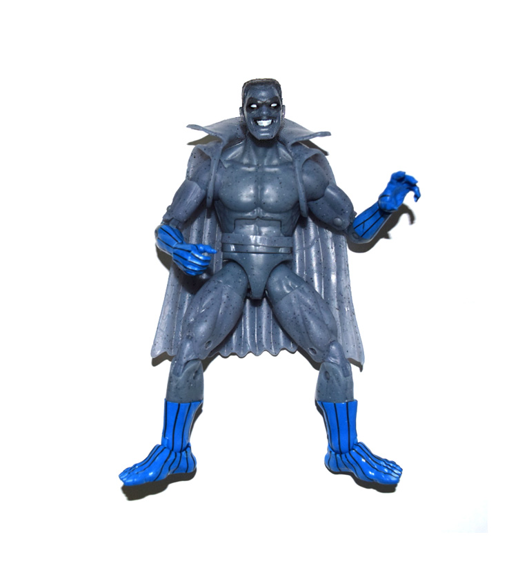 "Marvel Legends Grey Gargoyle Captain Marvel Loose 6"" Figure No Kree Sentry BAF"