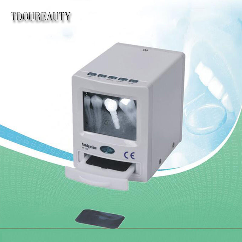 цена TDOUBEAUTY M-188 x ray film reader is dentist gift dental oral endoscopes Free Shipping