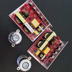 Схема PCB 220 V/100 W/40 khz ультразвуковая с 2 ультразвуковыми датчиком для машины чистки