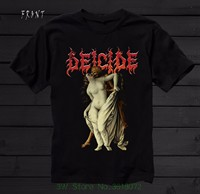 Tshirt High Quality Deicide In The Minds Of Evil Death Metal Obituary T Shirt Sizes S