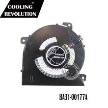 Original CPU Cooling Fan For SAMSUNG NP940X3M NP940X5N BAZA0605R5M DC5V 0.50A -002 BA31-00177A
