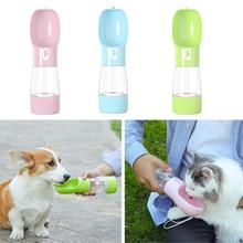 Portable Pet Water Bottle For Dogs Cats Travel Dog Bowl Cat Feeding Drinking Cup Outdoor Dispenser Products
