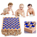 1-100 Digital Wooden Board Montessori Children Kid Educational Math Toy