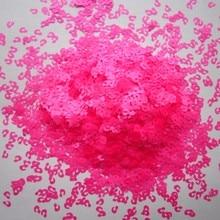 Устойчивы к воздействию растворителей блеск неоновый розовый пятна леопарда форма блеск 3,0 мм Размеры блеск для ногтей Книги по искусству украшения макияж