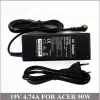19 V 4.74A 90 W del Ordenador portátil cargador de batería para Ordenador Portatil Acer Aspire 7520, 7720 de 8920 AP a1003.003 LSE0202C1990 PA-1900-05QA