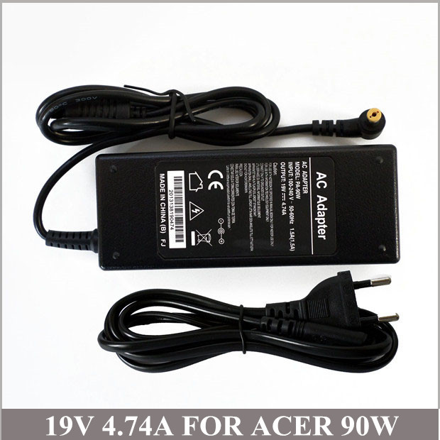 19V 4.74A 90W Laptop Battery Charger For Ordenador Portatil Acer Aspire 7520 7720 8920 AP.A1003.003 LSE0202C1990 PA-1900-05QA