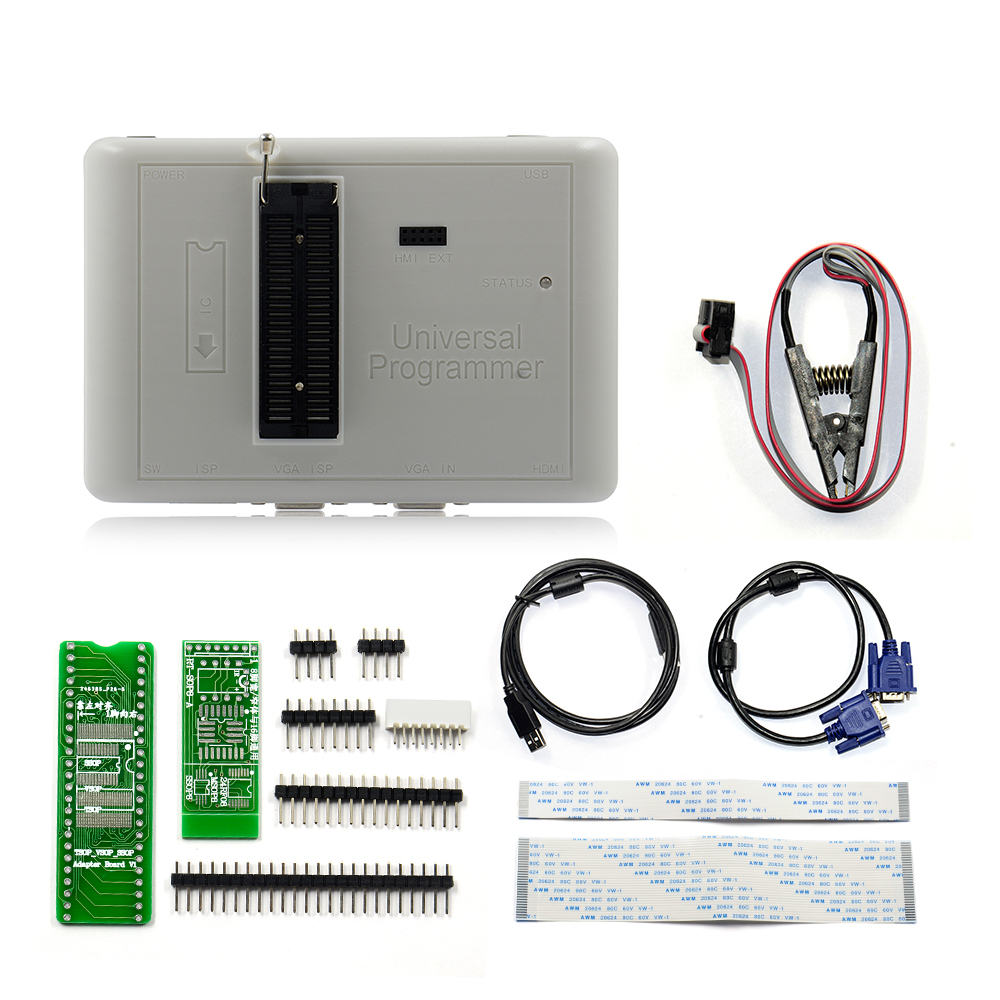 2019 New Arrival RT809H EMMC Nand FLASH Extremely fast universal Programmer Free Shipping