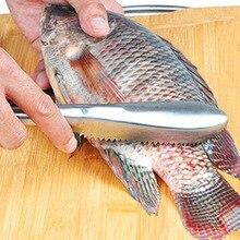 Щетка Скайлер для рыбы быстрая выскабливание из нержавеющей стали удаление рыбы Весы ножи скребок легко эффективный RT99