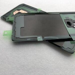 Image 5 - Аккумулятор для Samsung Galaxy S9 G950 S9 Plus G965 S9 +, стеклянная задняя крышка, замена корпуса, запасные части, наклейка, стекло для камеры
