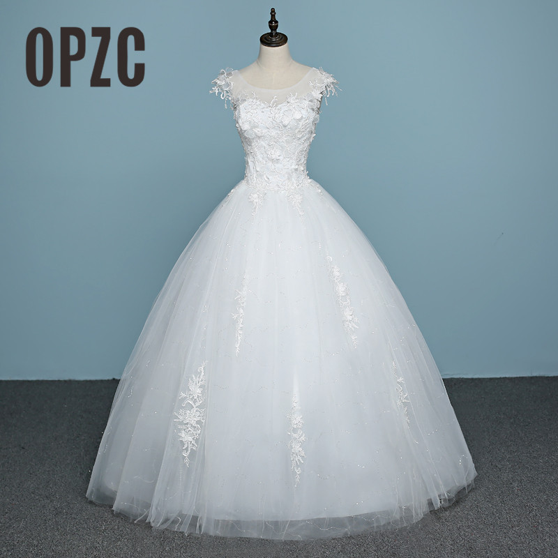 Buy vestido de noiva 2017 hot sales lace for Wedding dress warehouse sale
