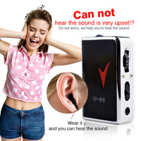 Portable Durable Hearing Aid Digital Hearing Kit Behind The Ear Sound Voice Amplifier Sound Adjustable Kit