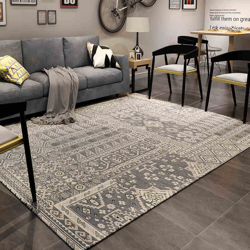 200X240CM Nordic Classic Carpets For Living Room Home Bedroom Rugs And Carpets Coffee Table Area Rug Kids Play Mat Home Decor
