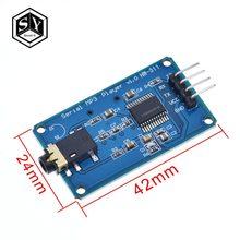 1PCS Grande ELE YX6300 YX5300 Controle UART Serial Módulo MP3 Music Player Módulo Para Arduino/AVR/ARM /PIC CF