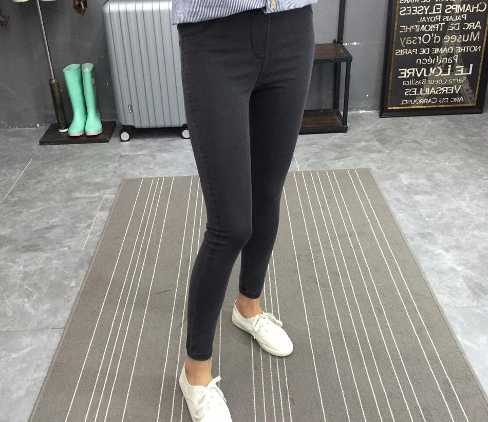 BIVIGAOS Basic Skinny Womens Jeans Ankle Pencil Pants Slim Elastic Denim Pants Jean Leggings Female Cotton Jeggings Jeans Women 21