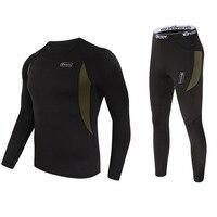 Top Quality New Thermal Underwear Men Underwear Sets Compression Sport Fleece Sweat Quick Drying Thermo Underwear