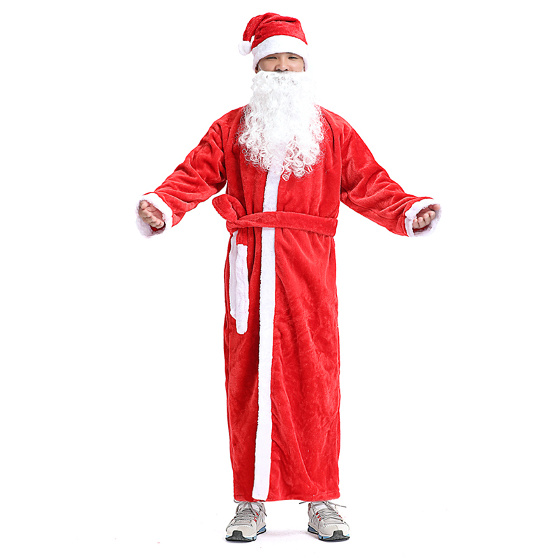 c841d5c0598 Russie noël père noël Costume Cosplay père noël vêtements fantaisie ...