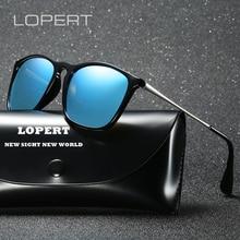 LOPERT Fashion Cat Eye  Polarized Sunglasses Women Driving Glasses Brand Designer Sun For de sol feminino UV400