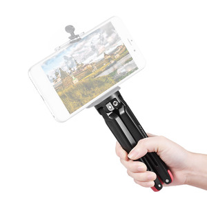 Image 4 - Andoer Mini Tripod Cầm Tay Du Lịch Máy Tính Để Bàn Chủ Máy Ảnh Đứng Hợp Kim Nhôm cho Canon Nikon Sony DSLR đối với iPhone X Điện Thoại Thông Minh