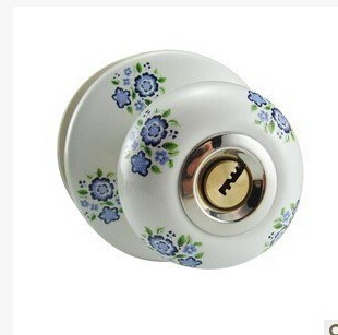 Ceramic lock the door when indoor European ball lock hold hand lock copper core  S-002B vicky ward the liar s ball