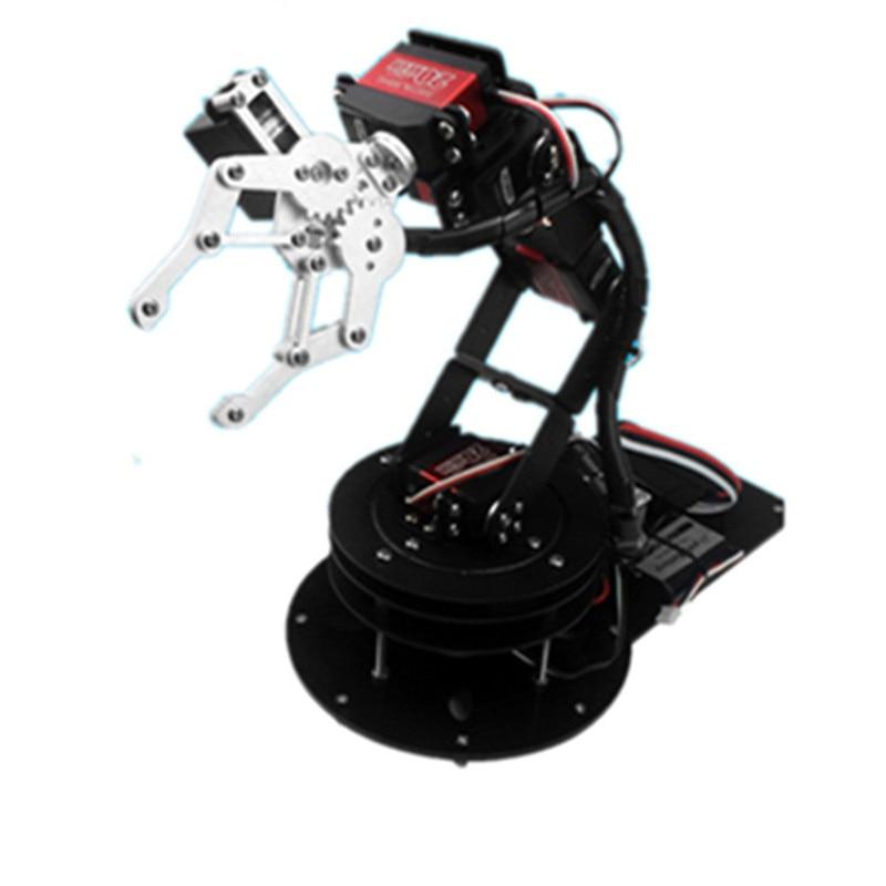 6 DOF robot arm Arduino secondary development Manipulator/Open source robot mechanical gripper