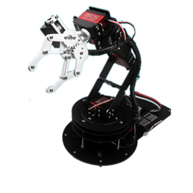 6 DOF robot arm Arduino secondary development Manipulator/Open source robot mechanical gripper