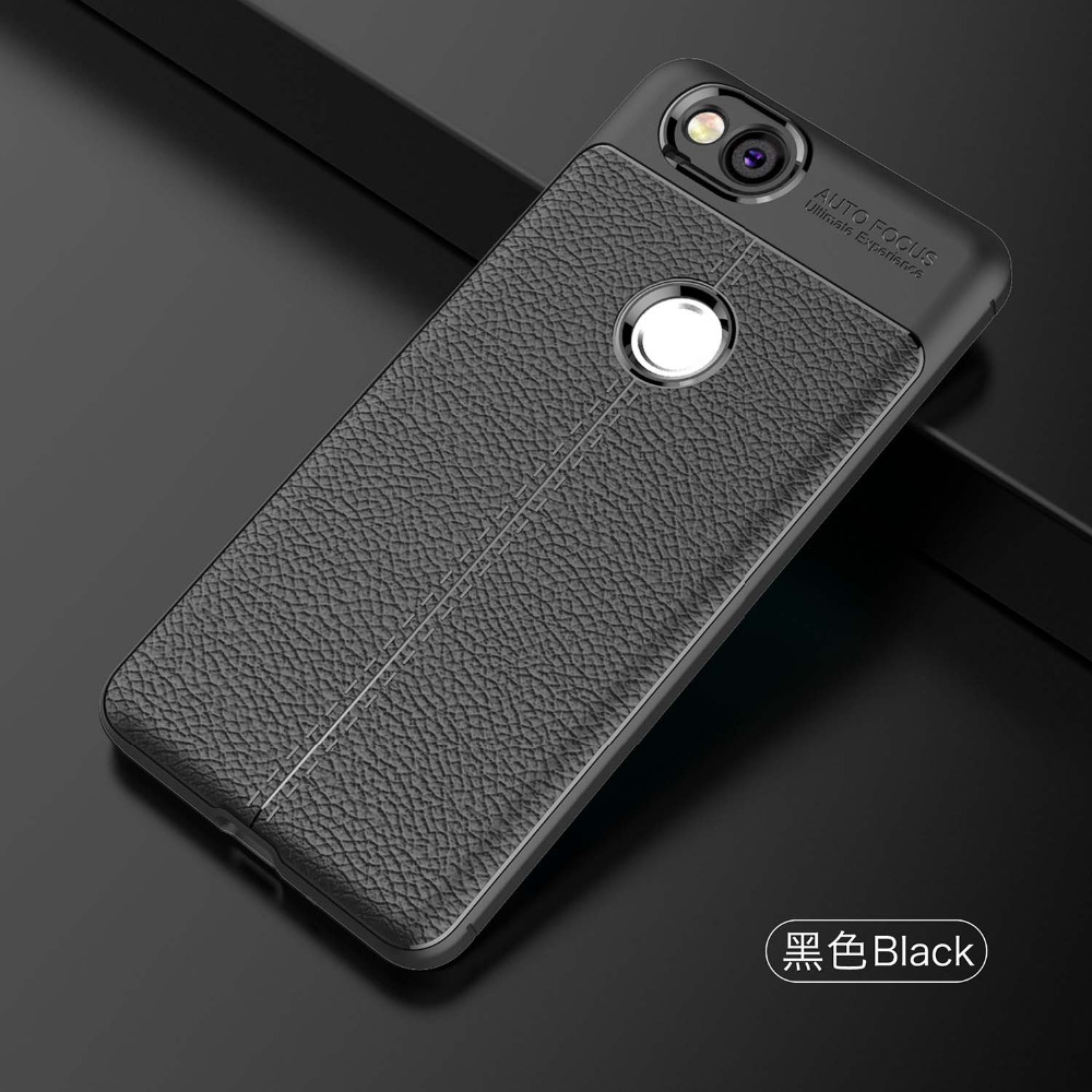 Case For Google Pixel 2 XL Case Soft Silicone Quality TPU Brushed Genuine Leather Case For Google Pixel 2 XL Back Cover