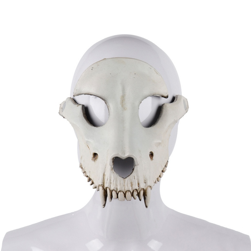 Mascaras Disfraces Festival Day of The Dead Halloween Party Masquerade Creepy Horror <font><b>Terror</b></font> Scary Costume Skull Mask image