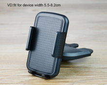 Portable Rotary Car CD Slot Dash GPS Tablet Mobile Phone Mount Stand Holders For BLU Studio