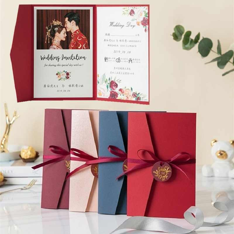 Wedding Invitations With Rsvp Cards And