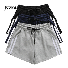 Jvzkass cotton sports shorts female summer 2019 new loose students wild running casual three Z291