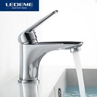 LEDEME Basin Faucet Water Mixer Tap Toneir Bath Sink Faucet Brass Bathroom Mixer Wash Basin Mixer Taps Bathroom Toneira L1048