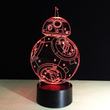 Star Wars BB8 Night Light